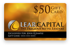 Photo - Lear Gift Card